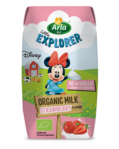 Organic Milk - Strawberry Flavour
