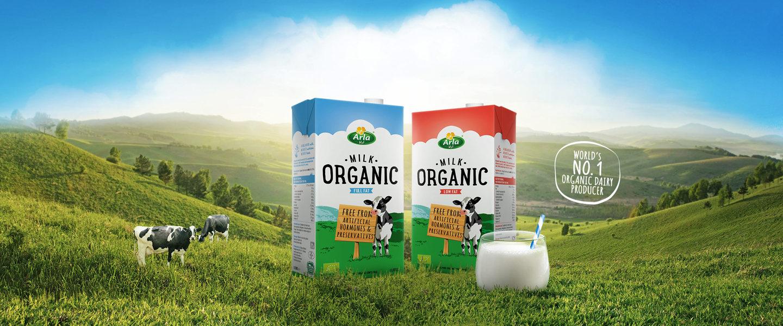 Organic Milk | Arla Foods