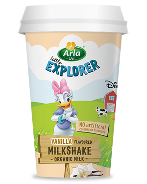 Little Explorer Vanilla Milkshake 180ml